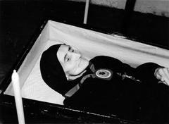 92 urteko Simona Anaut euskalduna, hildakoan.