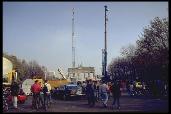 Berlin 1989, Brandenburg gate