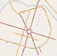 Bilbo OpenStreetMapen 2007/07/01