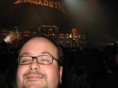 Espontaneo bat Megadetheko kontzertuan.