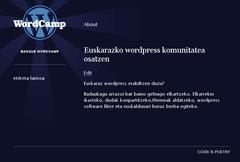 basque wordcamp