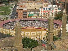 Huesca, zezen plaza