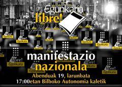 Egunkaria Libre manifestazioa