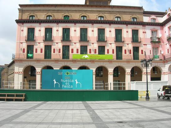Huesca San Lorenzo jaiak 2008