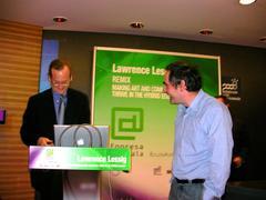Lawrence Lessig Luistxorekin