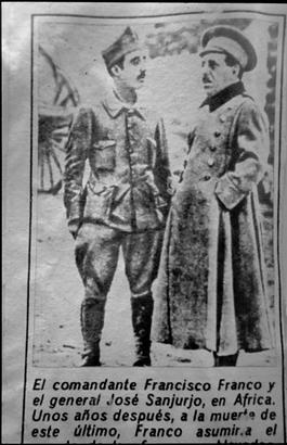 Franco eta Sanjurjo