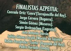 Errekortari 2009 finalistak