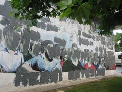 Usurbilen, ezabatutako murala