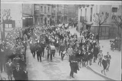 Aste santuko prozesiñua 1923