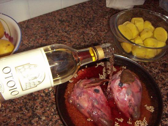 O'Toio wine, from Roland bodeg