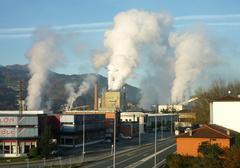 Smurfit-Kappa paper-fabrika Iurretan