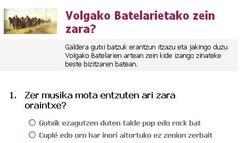 Volgako Batelarien galdetegia Facebooken
