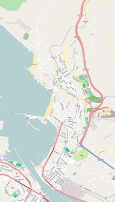 Getxo mapa-jaia lehenago