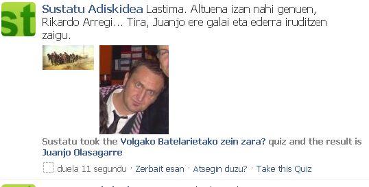 Sustatuk Volgako Batelarien quiz-a bete du