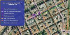 Donostia: telefono lerroen kokapena