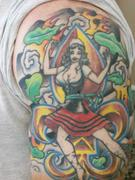 Pin-up tatuajea