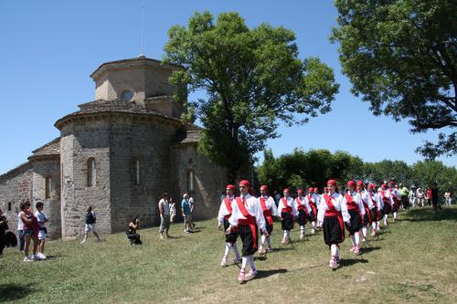 Aurtzaka dantza taldea San Miguelen