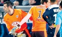 58e minute : Ramé remplace Carrasso. (photo laurent theillet)