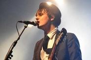 Pete Doherty au festival Garorock de Marmande en 2009 (photo Alexandre Sioc'Han de Kersabiec)