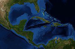 Composición fotográfica de la cuenca caribeña