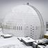 Stockholm: Munduko eraikin esferiko handiena igotzen duen funikularra