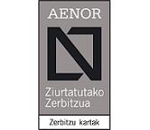 AENOR Carta de Servicios