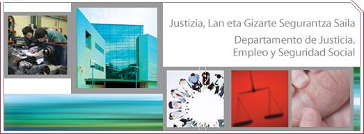 Logotipo del Departamento de Justicia, Empleo y Seguridad Social