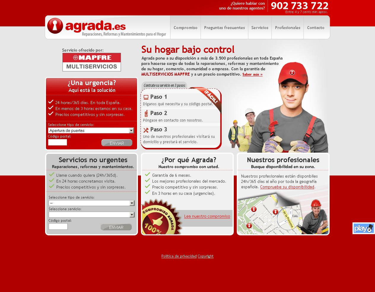 Agrada.es webgune berria