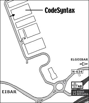 CodeSyntax mapa
