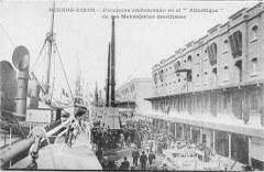 Le paquebot Atlantique à Buenos Aires