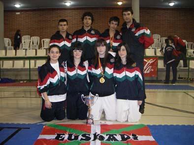 Integrantes del Club Deportivo Garriko-Urreta