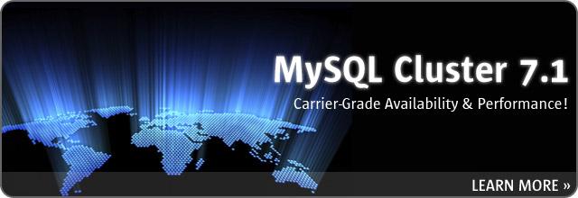 MySQL Cluster 7.1