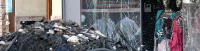 Hoy comienza el derrumbe del 25 de Gran Vía, diez días después de la explosión
