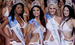 Una bella rumana, 'Miss Bikini Internacional 2010'