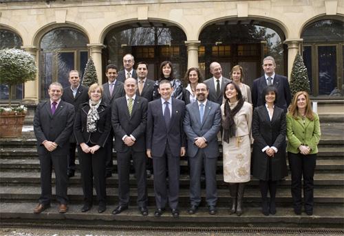 fotografía de los miembros del Consejo de Dirección