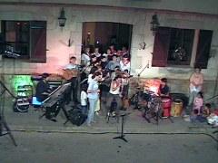 El coro Iruki Alaiak en el Dia del Euskara en Arrecifes