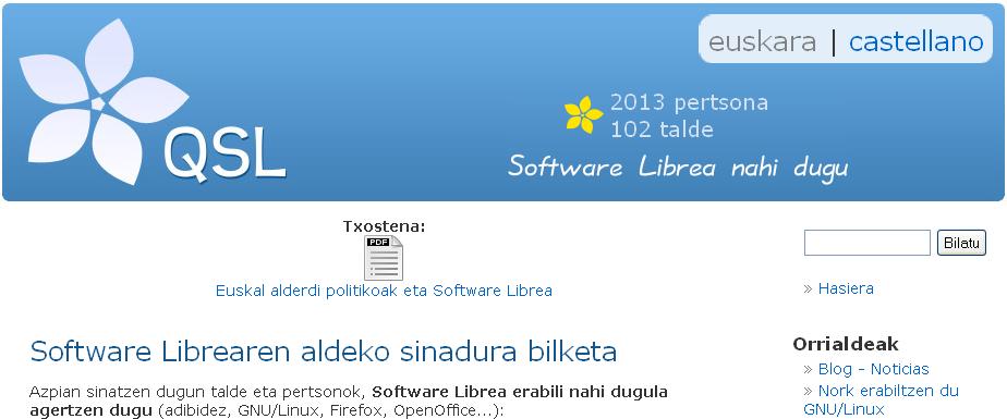 Software Librea nahi dugu