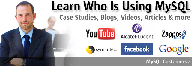 Learn Who Is Using MySQL - Case Studies, Blogs, Videos, Articles & more