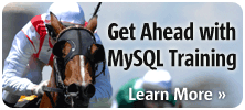 Get Trained. Get Ahead. Get the competitive edge with MySQL Training
