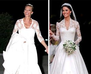 Belen Esteban y Kate Middleton
