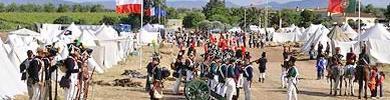 2.000 personas participan en la recreación de la batalla de La Albuera