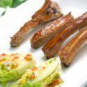 Costilla de cerdo con salsa agridulce
