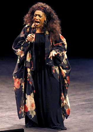 Jessye Norman en el Jazzaldia
