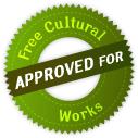 Esta licencia está aceptada para Obras Culturales Libres.