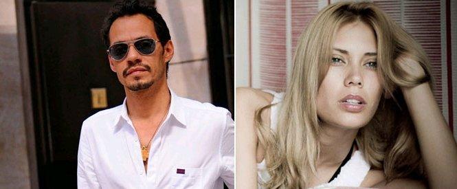 Marc Anthony y Adriana Ontiveros