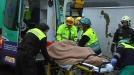 Un herido al caer al generador de una empresa en Zorrozaurre