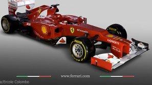 El nuevo Ferrari F2012.