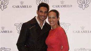 El torero Óscar Higares y Sandra Álvarez.