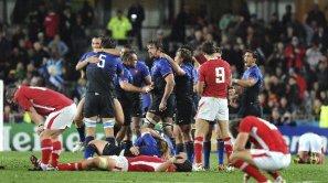 Francia eliminó a Gales en las semifinales de la reciente Copa del Mundo de rugby
