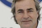 El piloto de rallyes, Carlos Sáinz, en l...